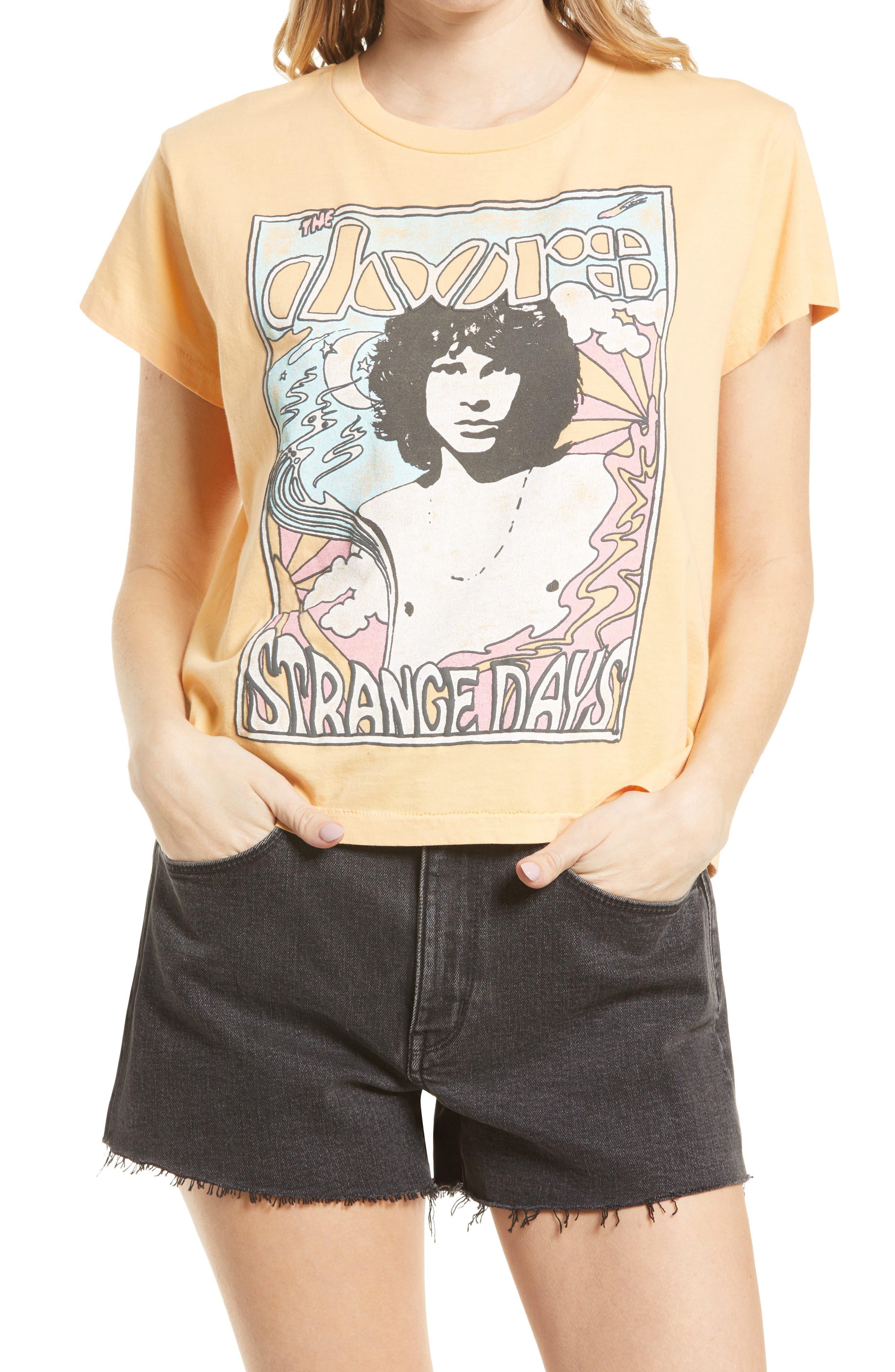 The Doors Strange Days Girlfriend Graphic Tee