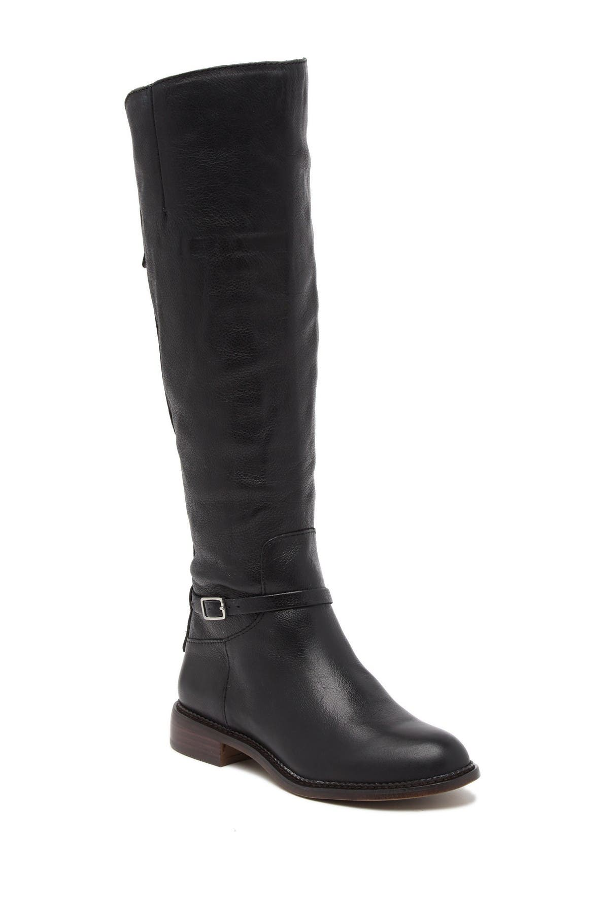 Image of Franco Sarto Haylie Leather Knee High Boot
