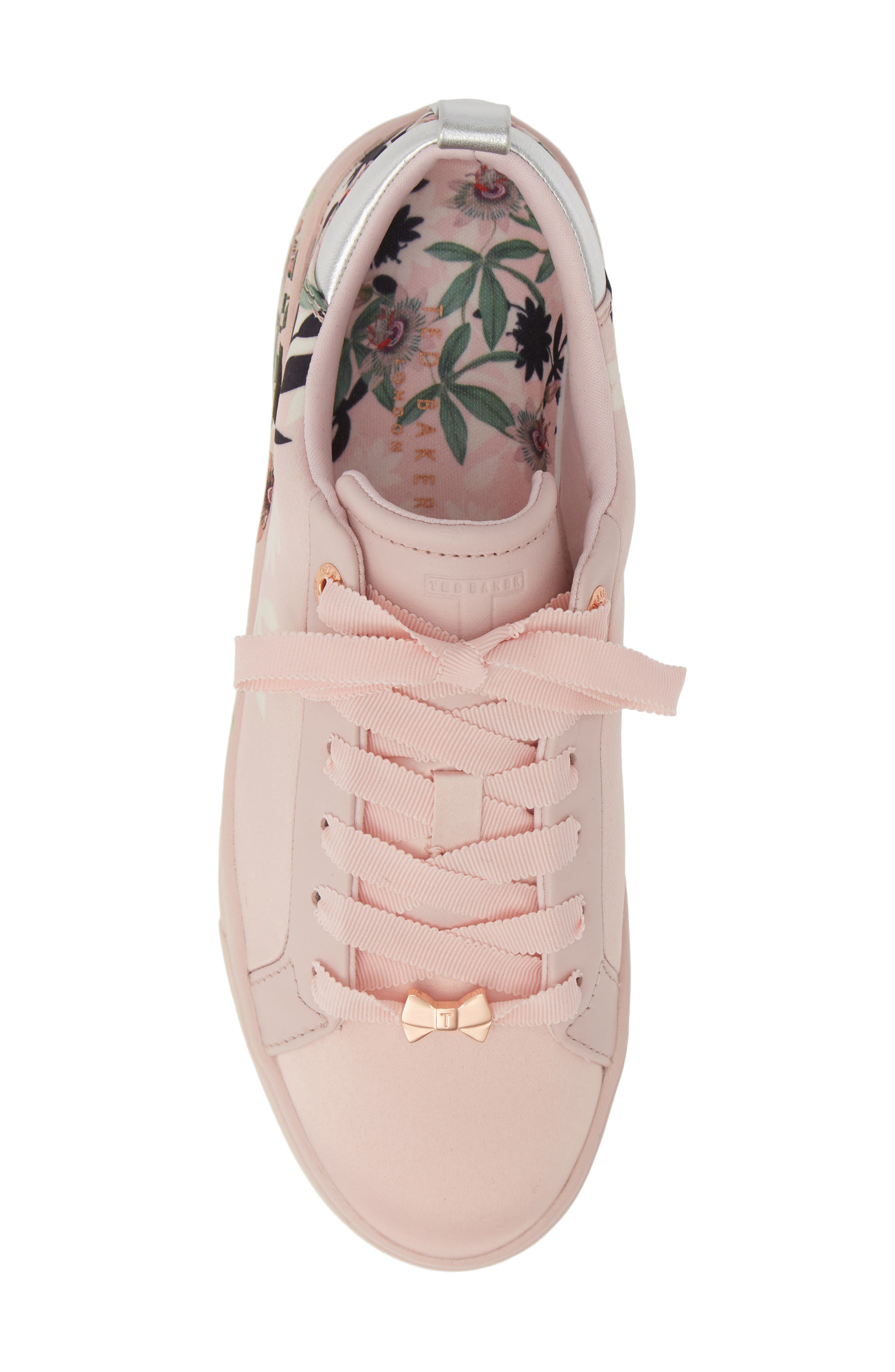 ,                             Rialy Sneaker,                             Alternate thumbnail 5, color,                             PINK ILLUSION SATIN