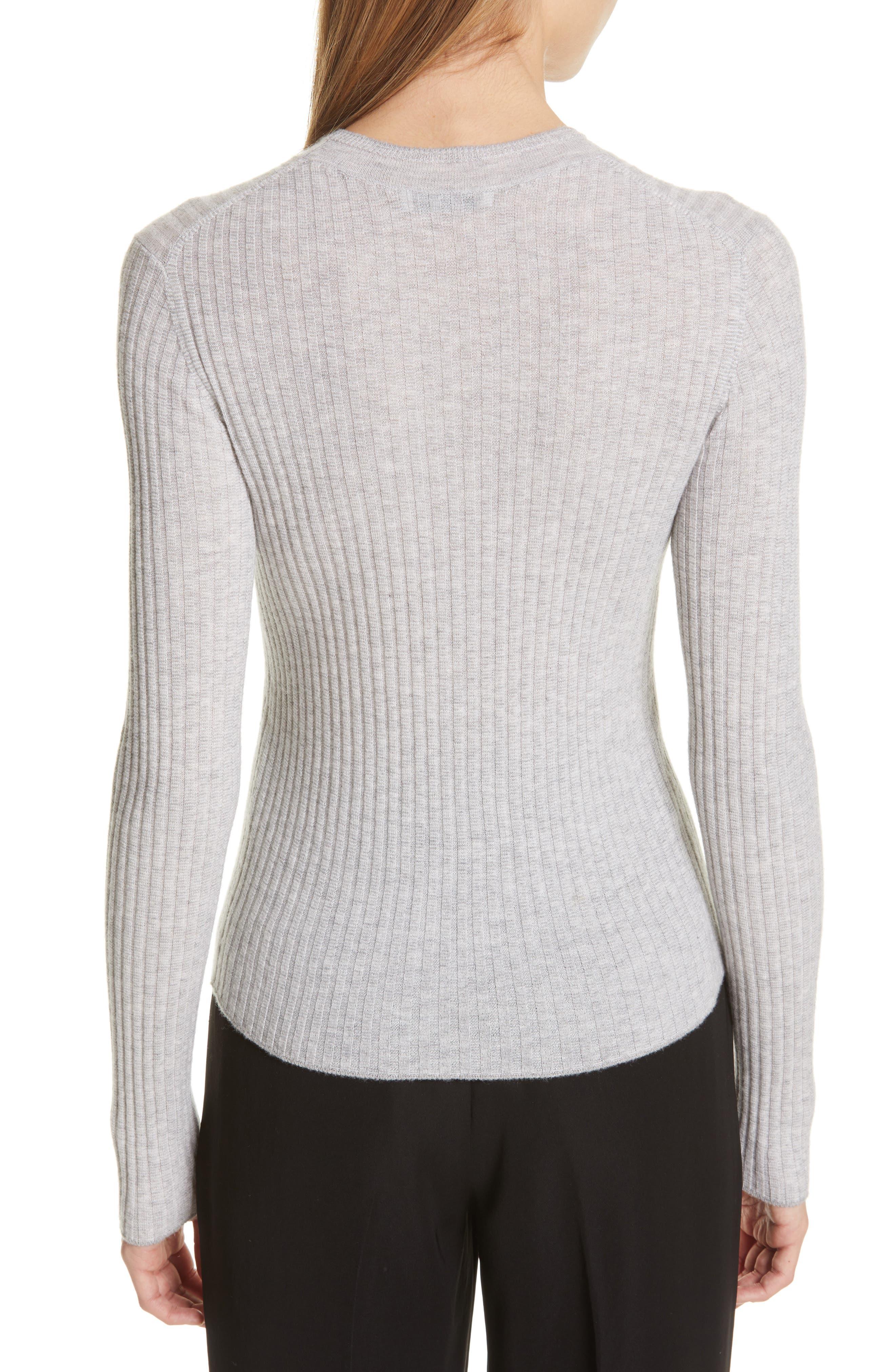 ,                             Mixed Rib Stitch Sweater,                             Alternate thumbnail 2, color,                             020