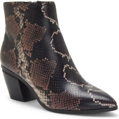 Vince Camuto Grasem Pointed Toe Western Boot- Purple