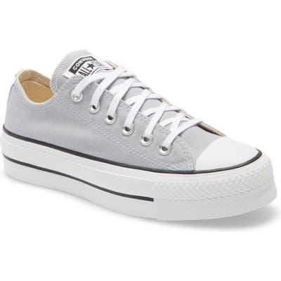 Converse Chuck Taylor All Star Lift Slip-On Sneaker, Grey