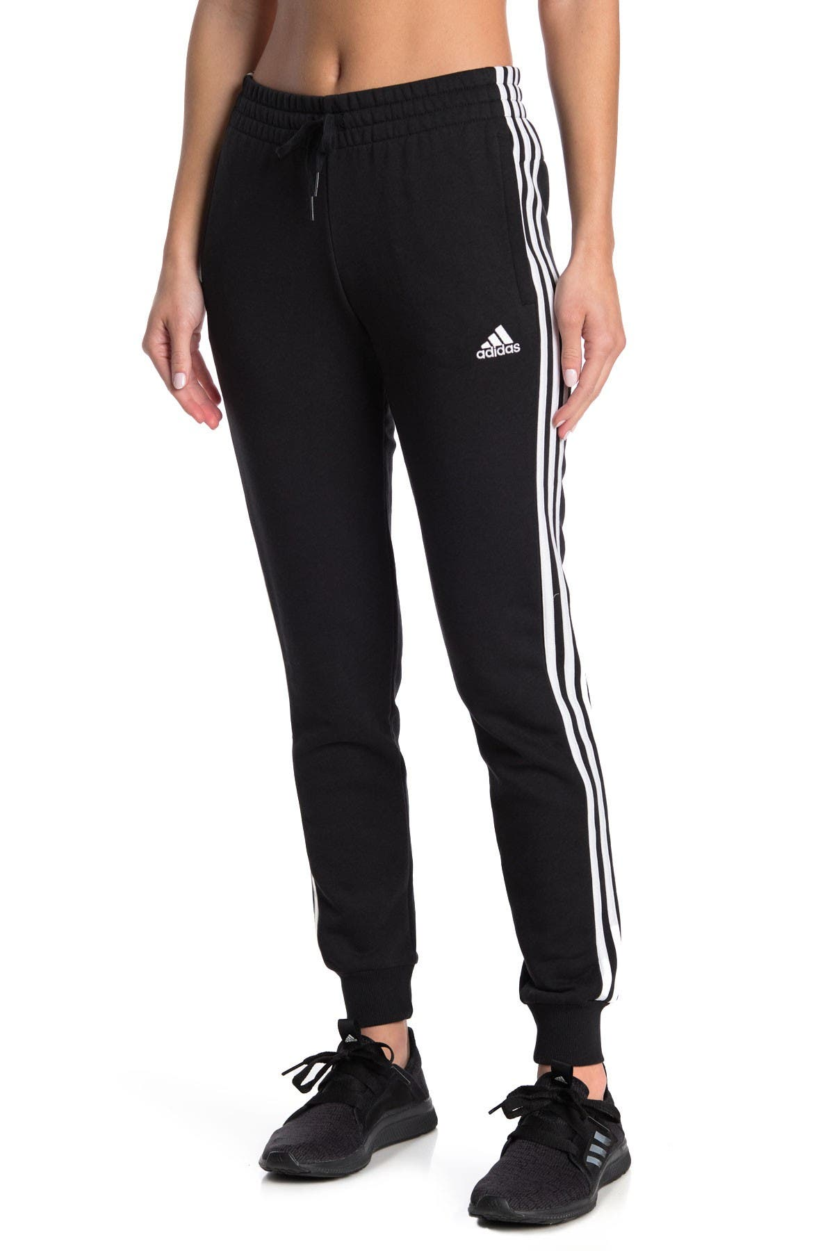 Image of adidas Essentials French Terry 3-Stripes Pants