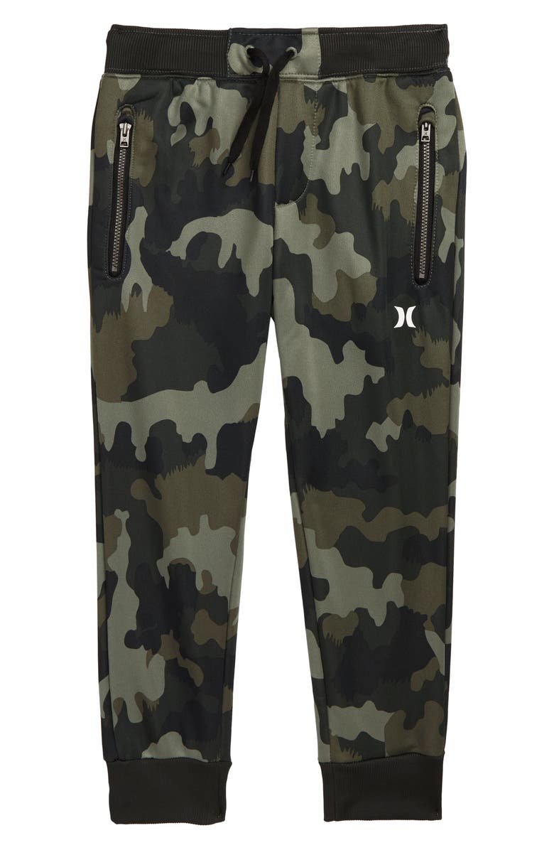 HURLEY Dri-FIT Solar Jogger Pants, Main, color, GREEN CAMO