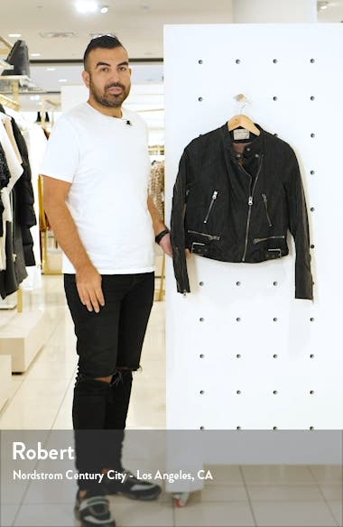 Fenix Faux Leather Moto Jacket, sales video thumbnail