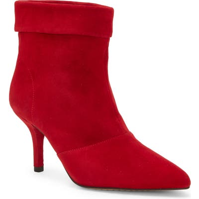 Vince Camuto Amvita Bootie- Red
