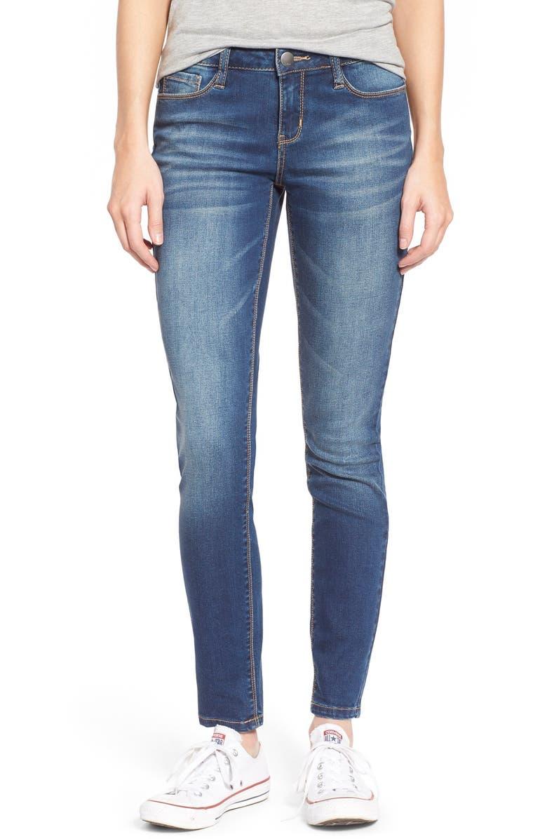 GENERRA Basic Skinny Jeans, Main, color, 400