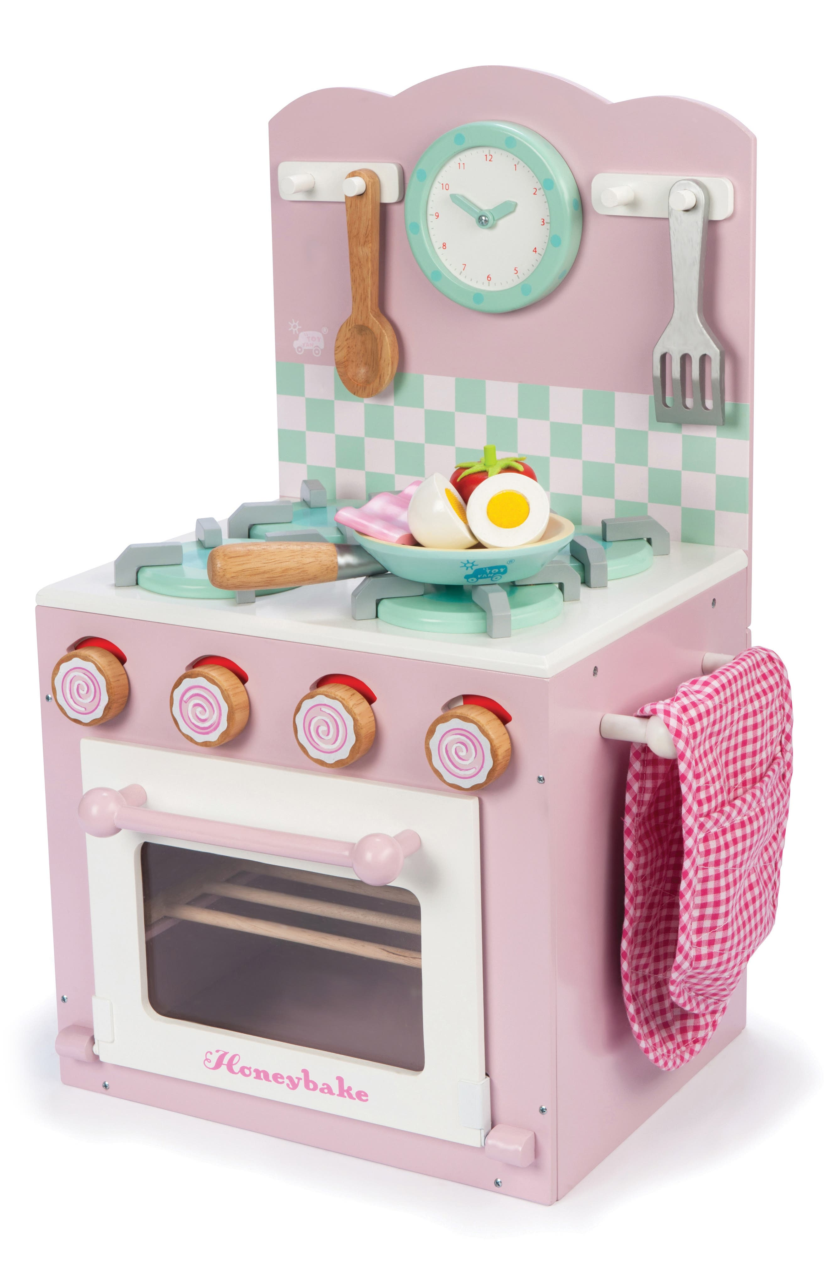 This adorable set is perfect for hours of hands-on imaginative play where kids can cook and pretend with exactly what they\\\'d see in the real kitchen. Style Name: Le Toy Van Oven Kitchen Set. Style Number: 6124950. Available in stores.