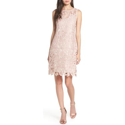 Sam Edelman Lace Sheath Dress, Pink