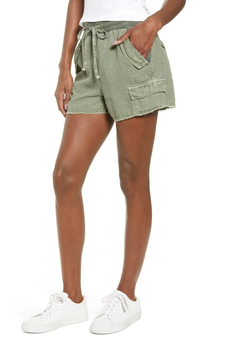 SPLENDID Dockside Shorts, Main, color, VINTAGE SPRING GREEN