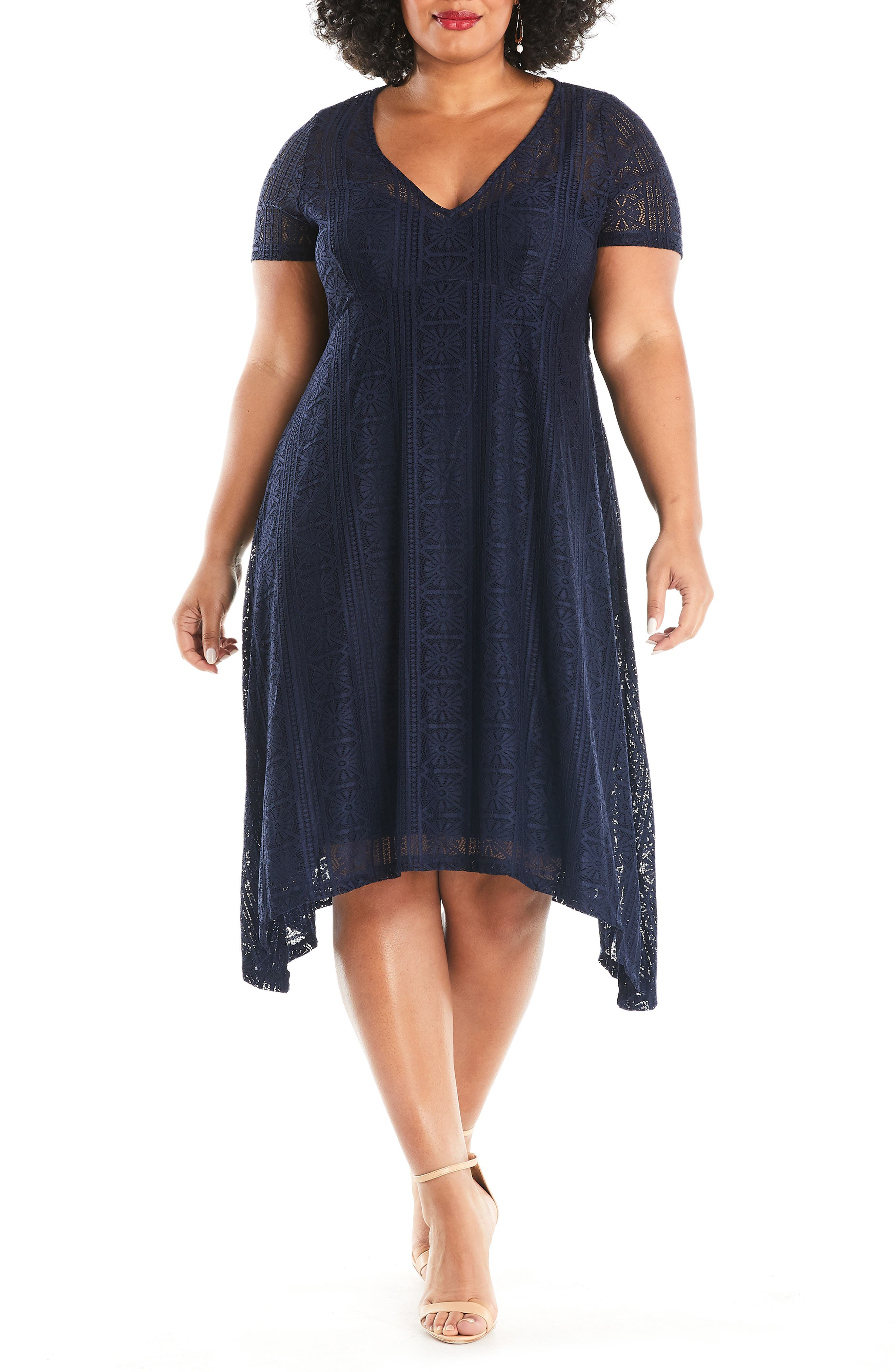 Estelle Deep Sea Dress (Plus Size) | Nordstrom