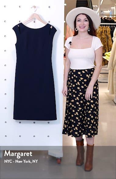 Dileky Slit Shoulder Dress, sales video thumbnail