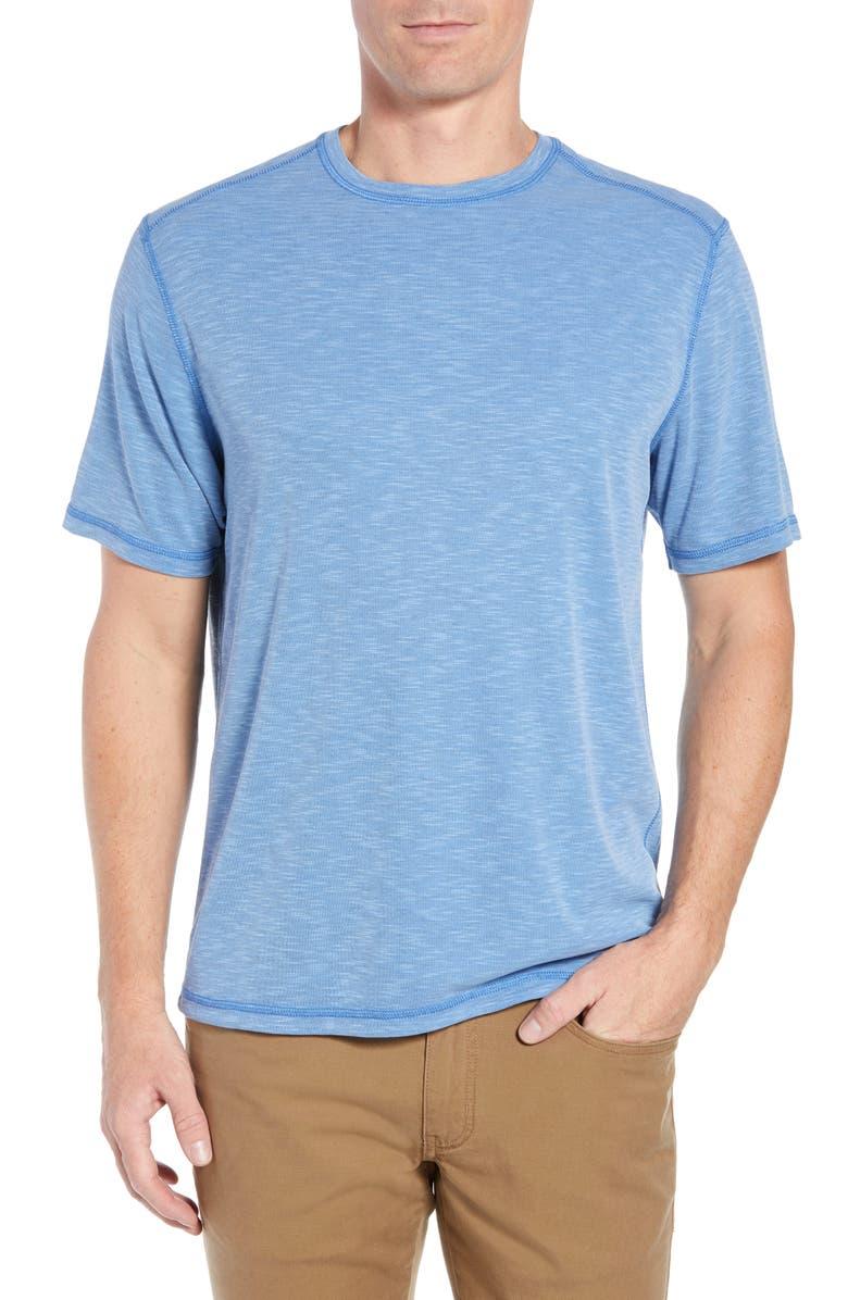 TOMMY BAHAMA Flip Tide T-Shirt, Main, color, BLUE COVE