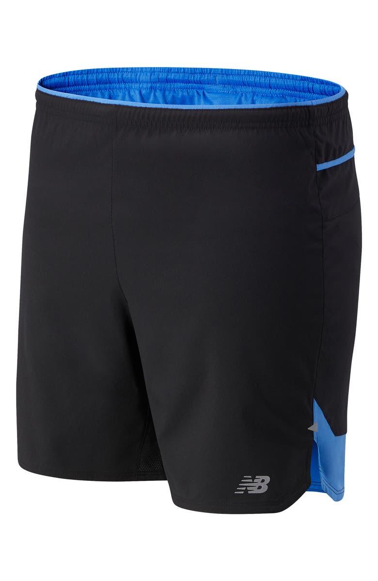 NEW BALANCE Impact Run Performance Shorts, Main, color, FADED COBALT