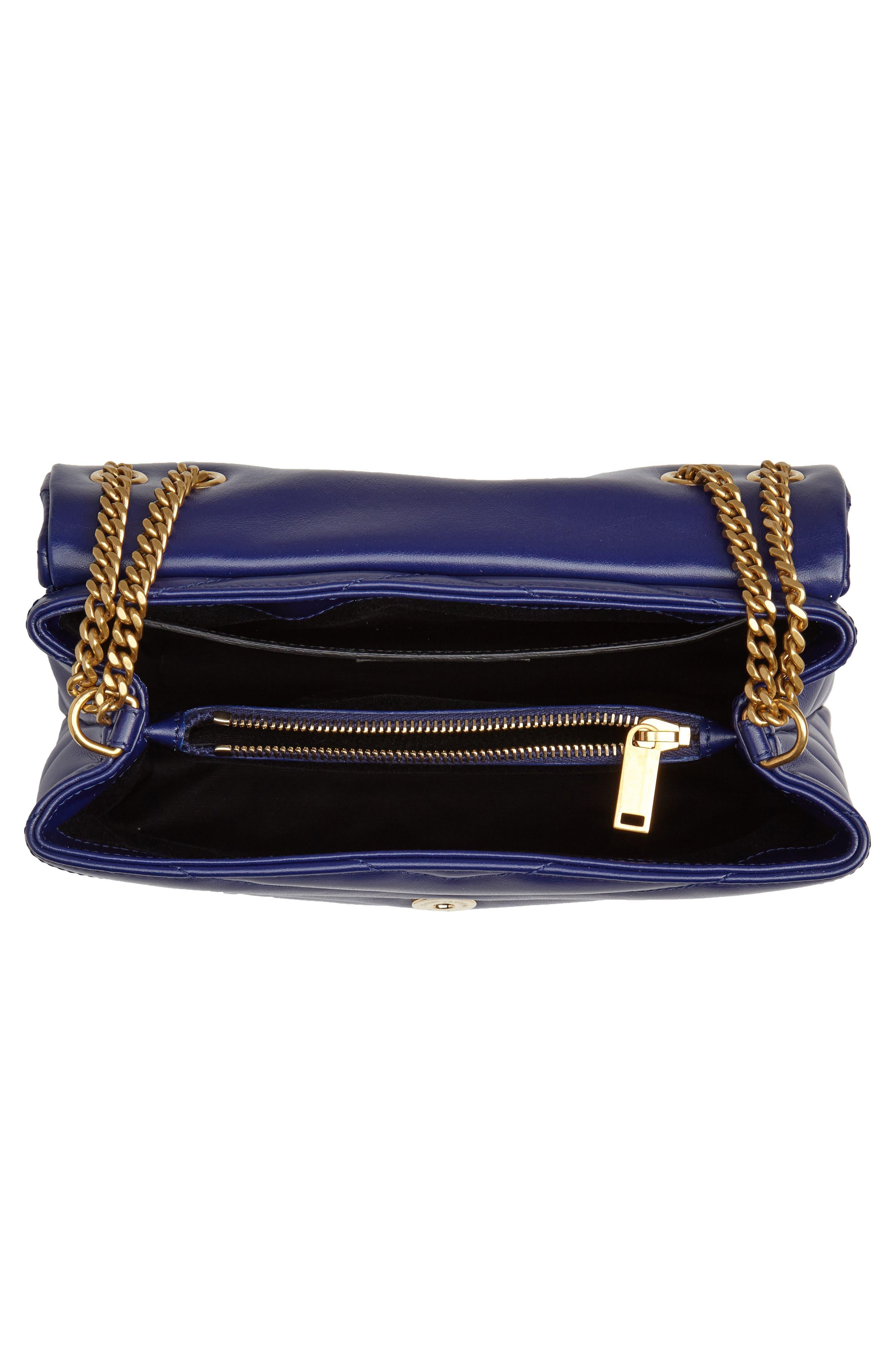 ,                             Small Loulou Leather Shoulder Bag,                             Alternate thumbnail 25, color,                             402