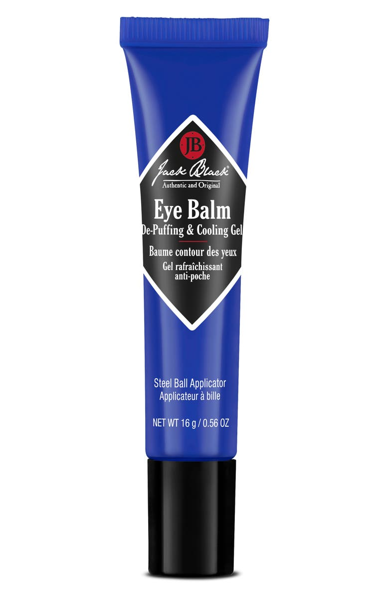 JACK BLACK Eye Balm De-Puffing & Cooling Gel, Main, color, NO COLOR