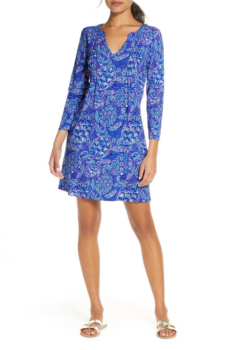 LILLY PULITZER<SUP>®</SUP> Aubrey UPF 50+ Shift Dress, Main, color, 400