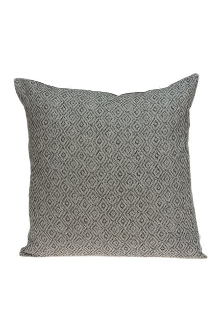 """Image of Parkland Collection Mudra Transitional Pillow - 20"""" x 20"""" - Grey"""