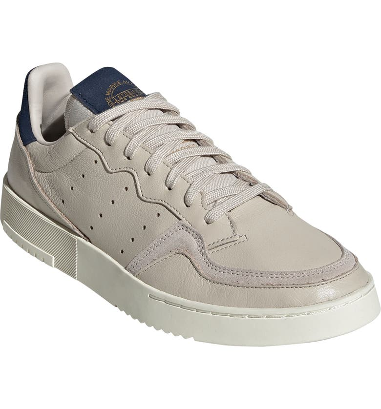 ADIDAS Supercourt Sneaker, Main, color, CLEAR BROWN/ COLLEGIATE NAVY