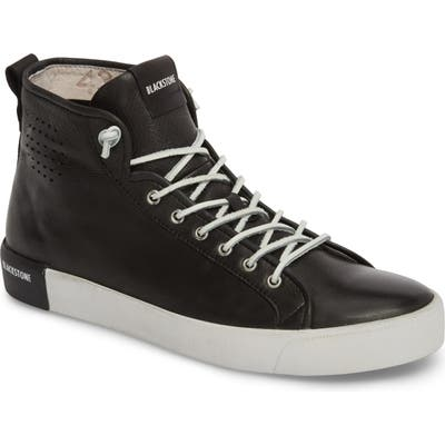 Blackstone Pm43 Slip-On High Top Sneaker - Black