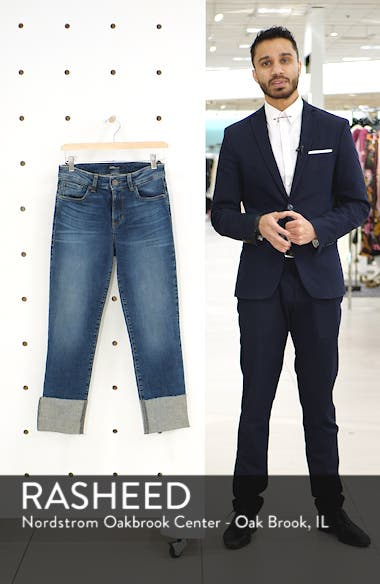 STS Blue Lucia Cuffed Straight Leg Jeans, sales video thumbnail