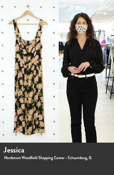 Saltillo Floral Print Midi Sundress, sales video thumbnail