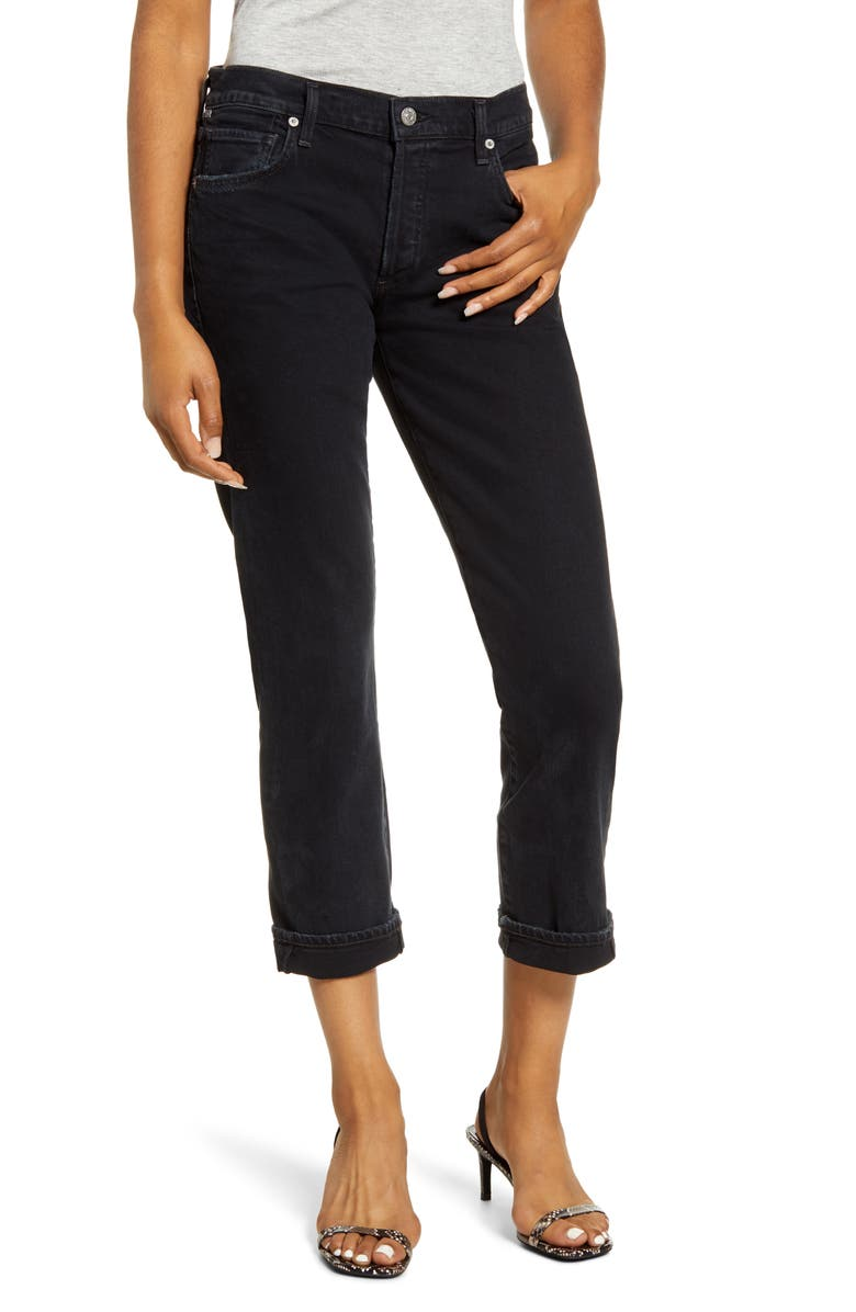 CITIZENS OF HUMANITY Emerson Slim Boyfriend Jeans, Main, color, NIGHTINGALE