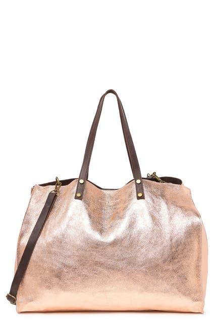 Image of Maison Heritage Nary Leather Tote Bag