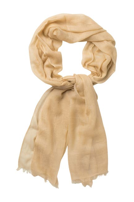 Image of PHENIX Solid Cashmere Wrap Scarf