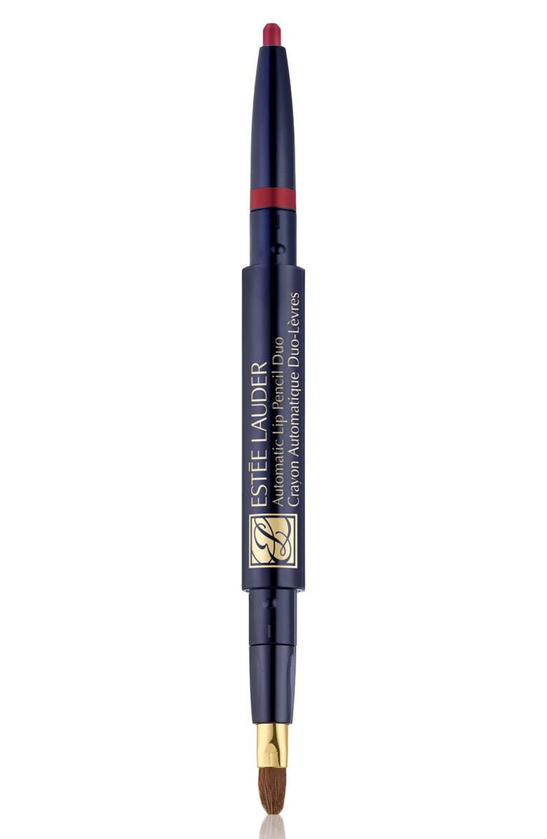 ESTÉE LAUDER Automatic Lip Pencil Duo, Main, color, CAFE ROSE