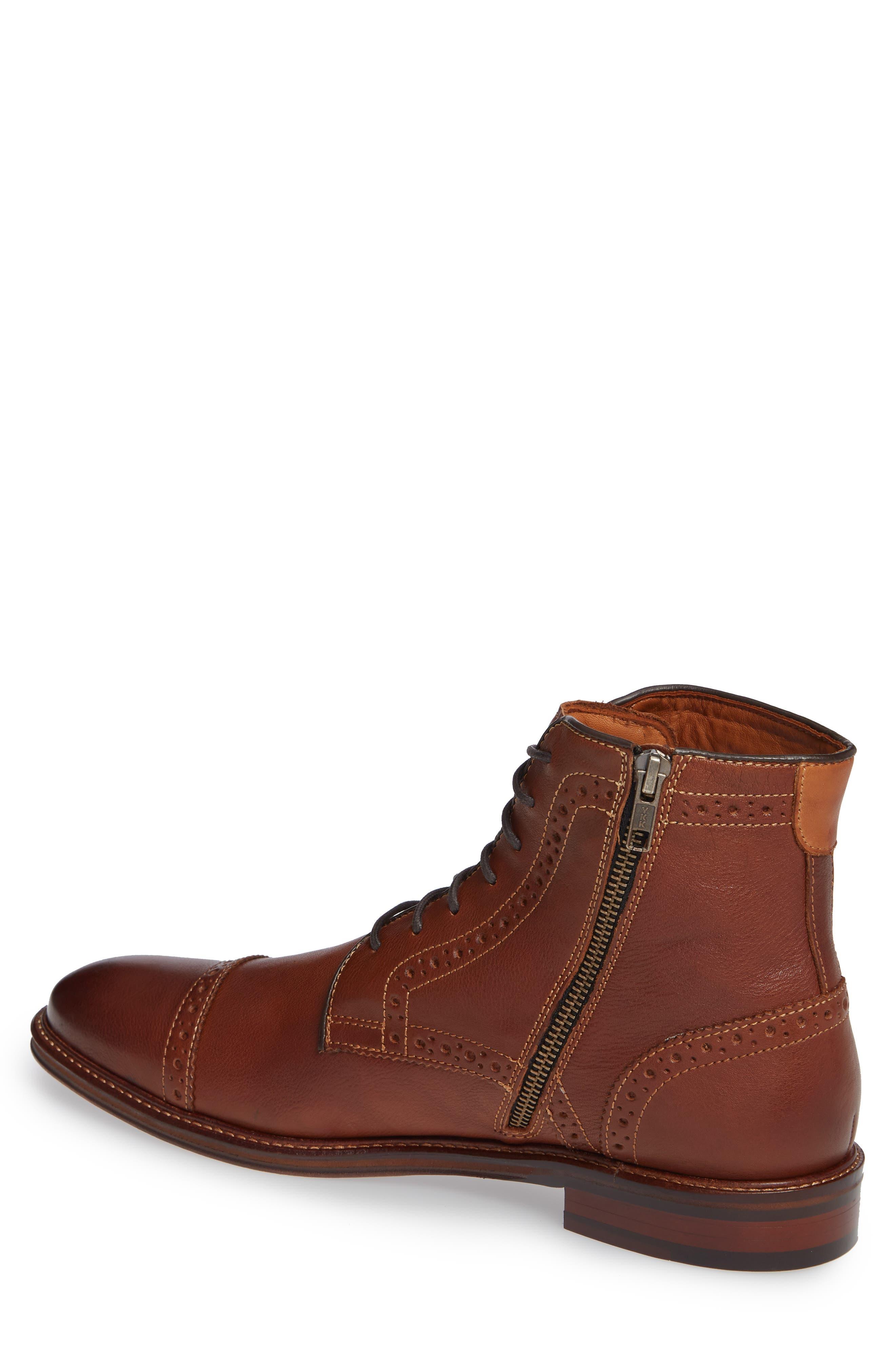 johnston and murphy warner boot