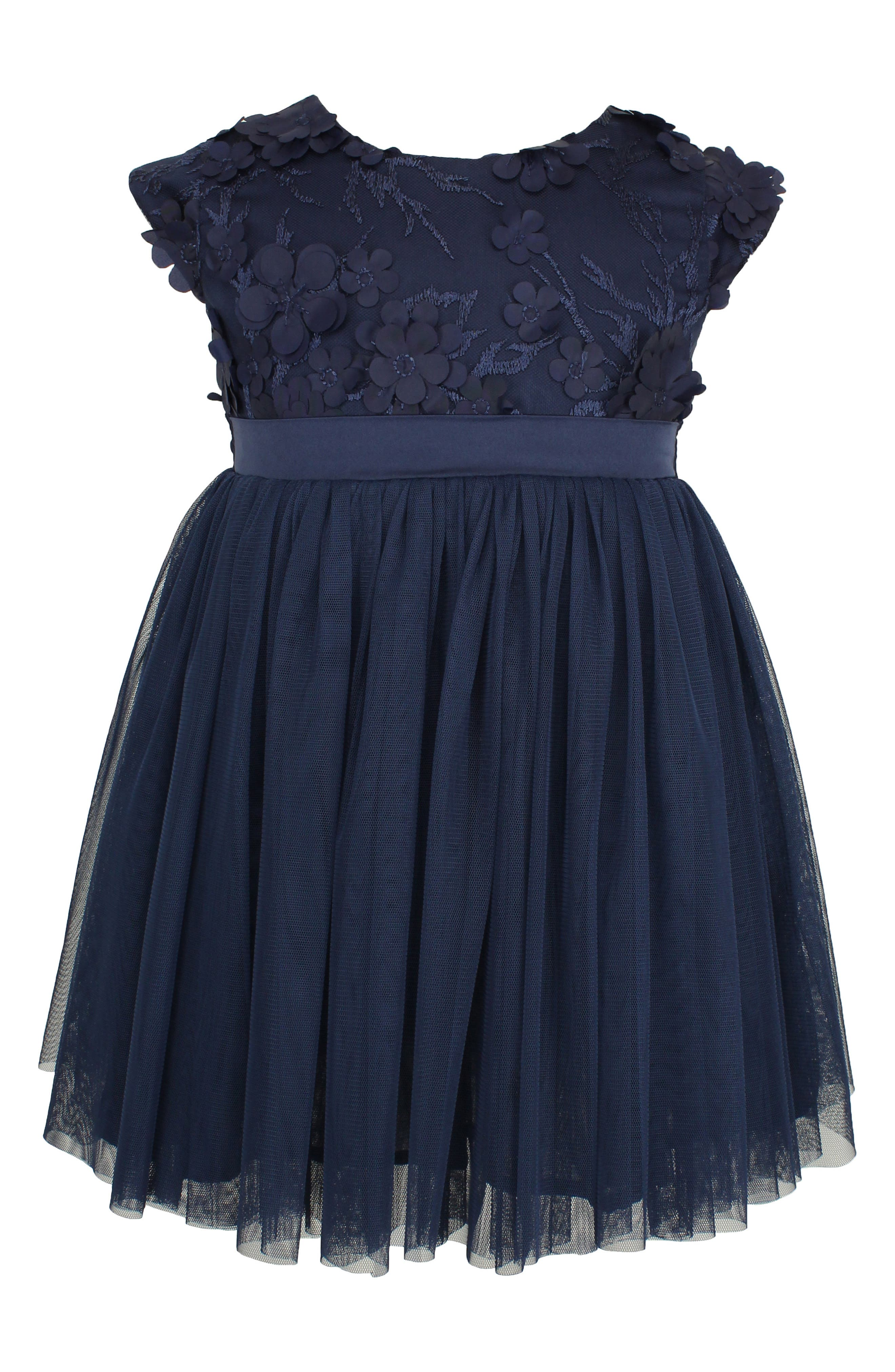 Popatu Floral Applique Dress