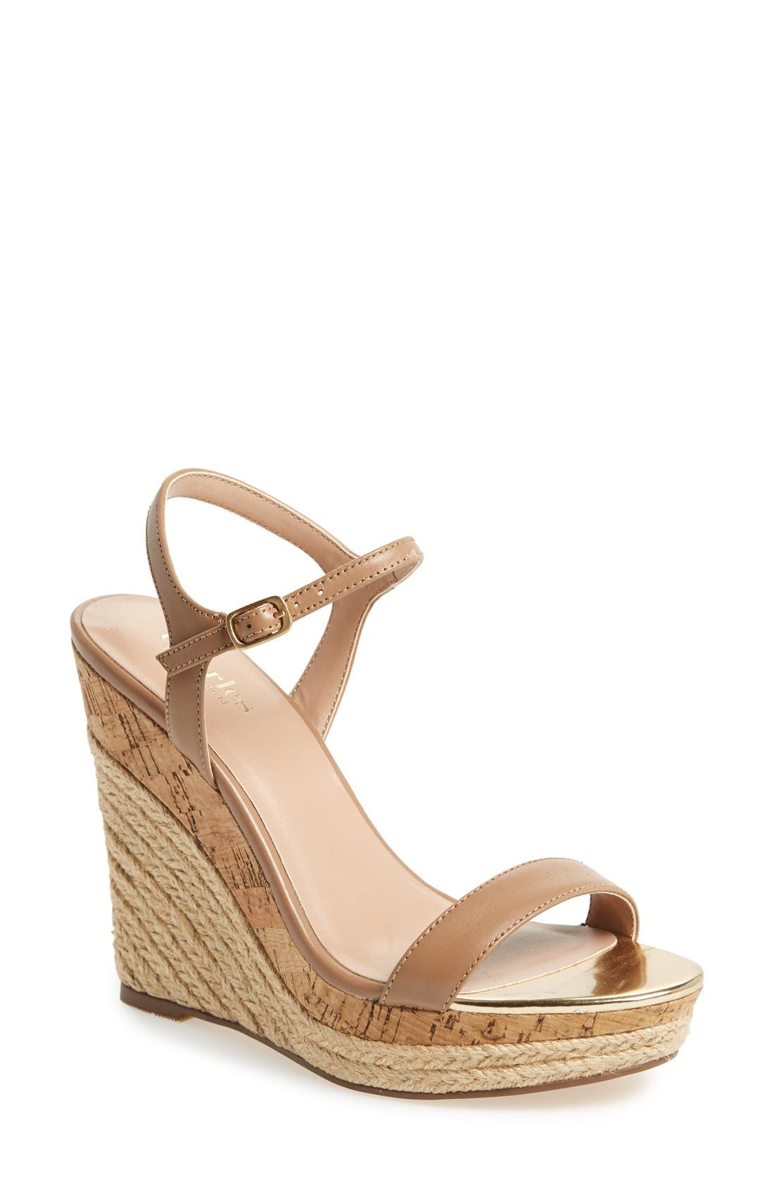 ,                             'Alabama' Espadrille Wedge Sandal,                             Main thumbnail 9, color,                             250