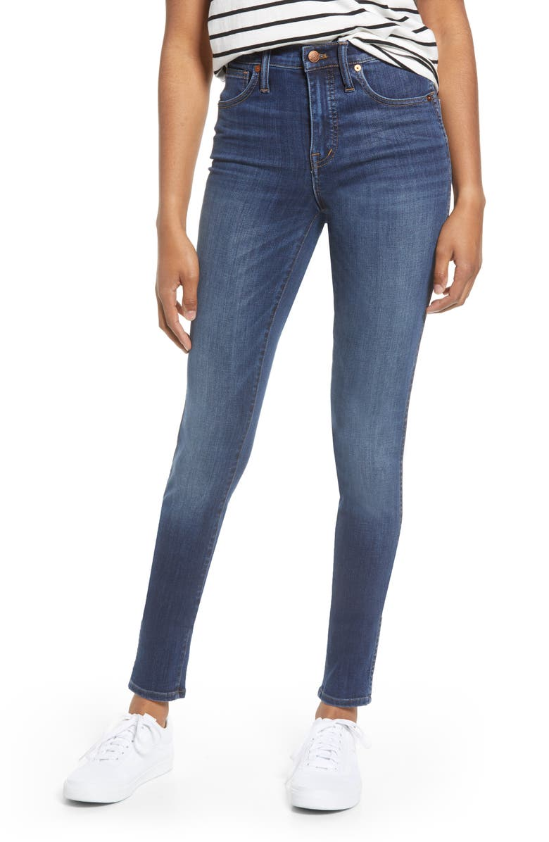 Madewell 10 Inch High Waist Skinny Jeans Danny Tall Regular Plus Size