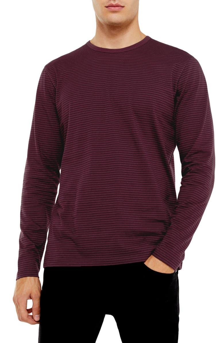 Harry Stripe Long Sleeve T Shirt by Topman