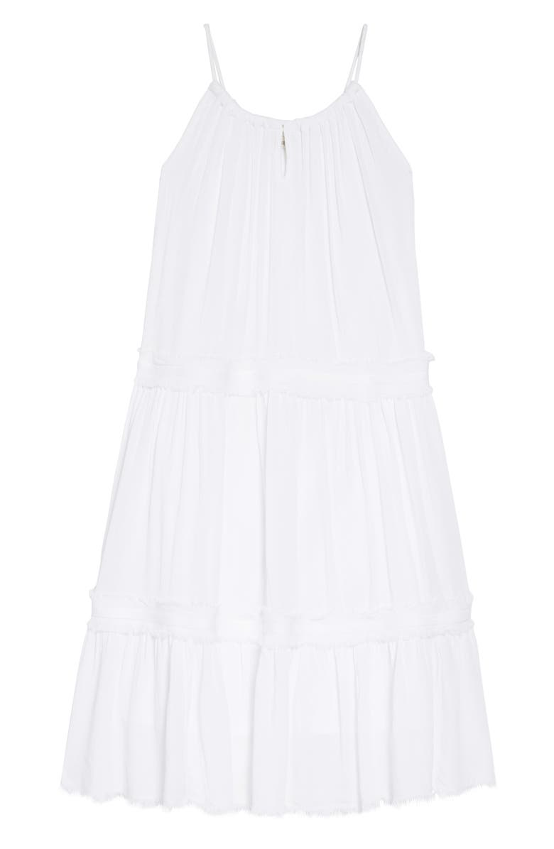 TUCKER + TATE Gauzy Tiered Sundress, Main, color, 100