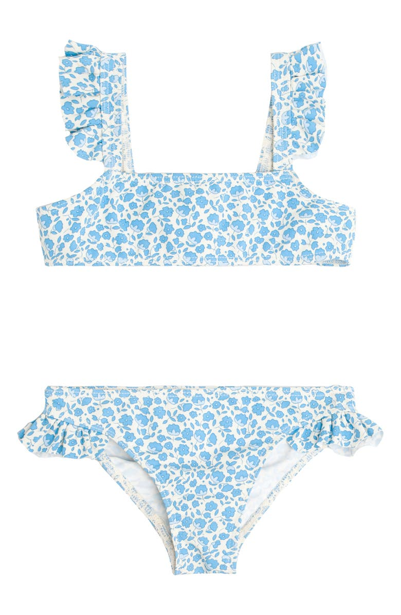 MINNOW Italian Floral Two Piece Swimsuit, Main, color, 400
