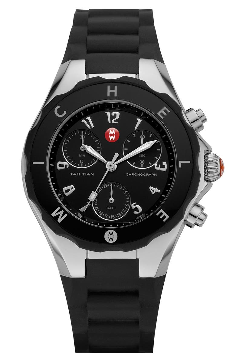 MICHELE 'Tahitian Jelly Bean' Watch, 40mm, Main, color, 001