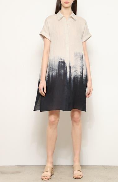 Jasarah Linen Shirtdress, video thumbnail