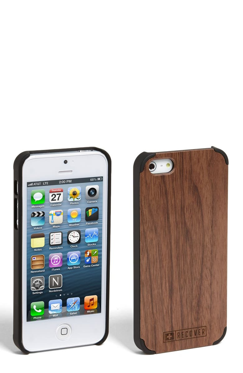 RECOVER Walnut iPhone 5 Case, Main, color, 200