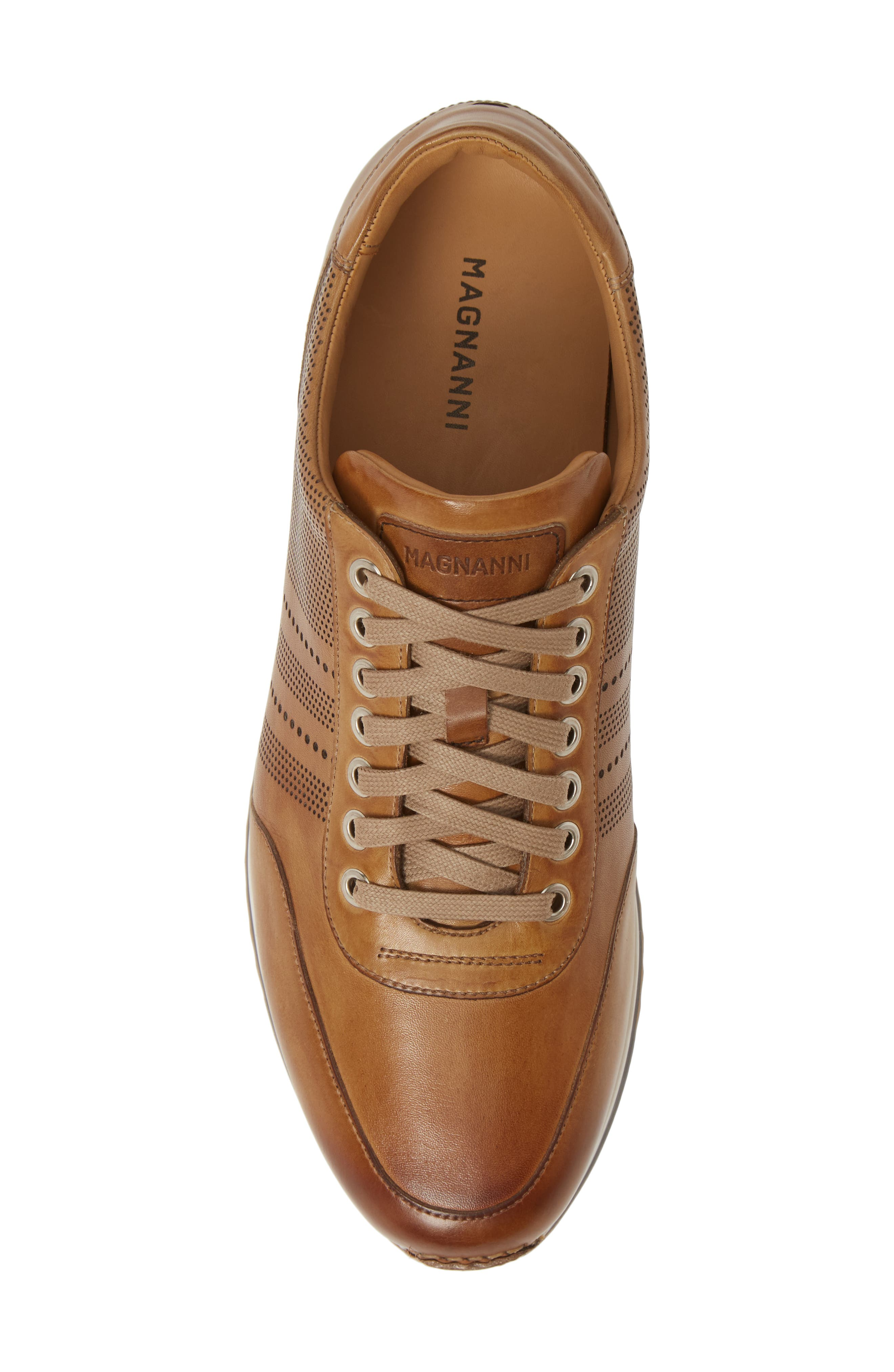 ,                             Merino Sneaker,                             Alternate thumbnail 5, color,                             TOBACCO LEATHER