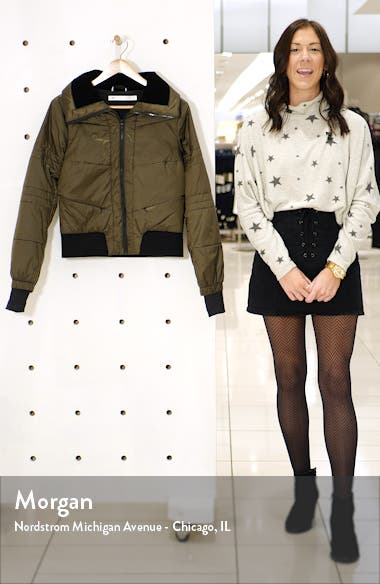 Bella Down Cropped Full Zip Jacket, sales video thumbnail