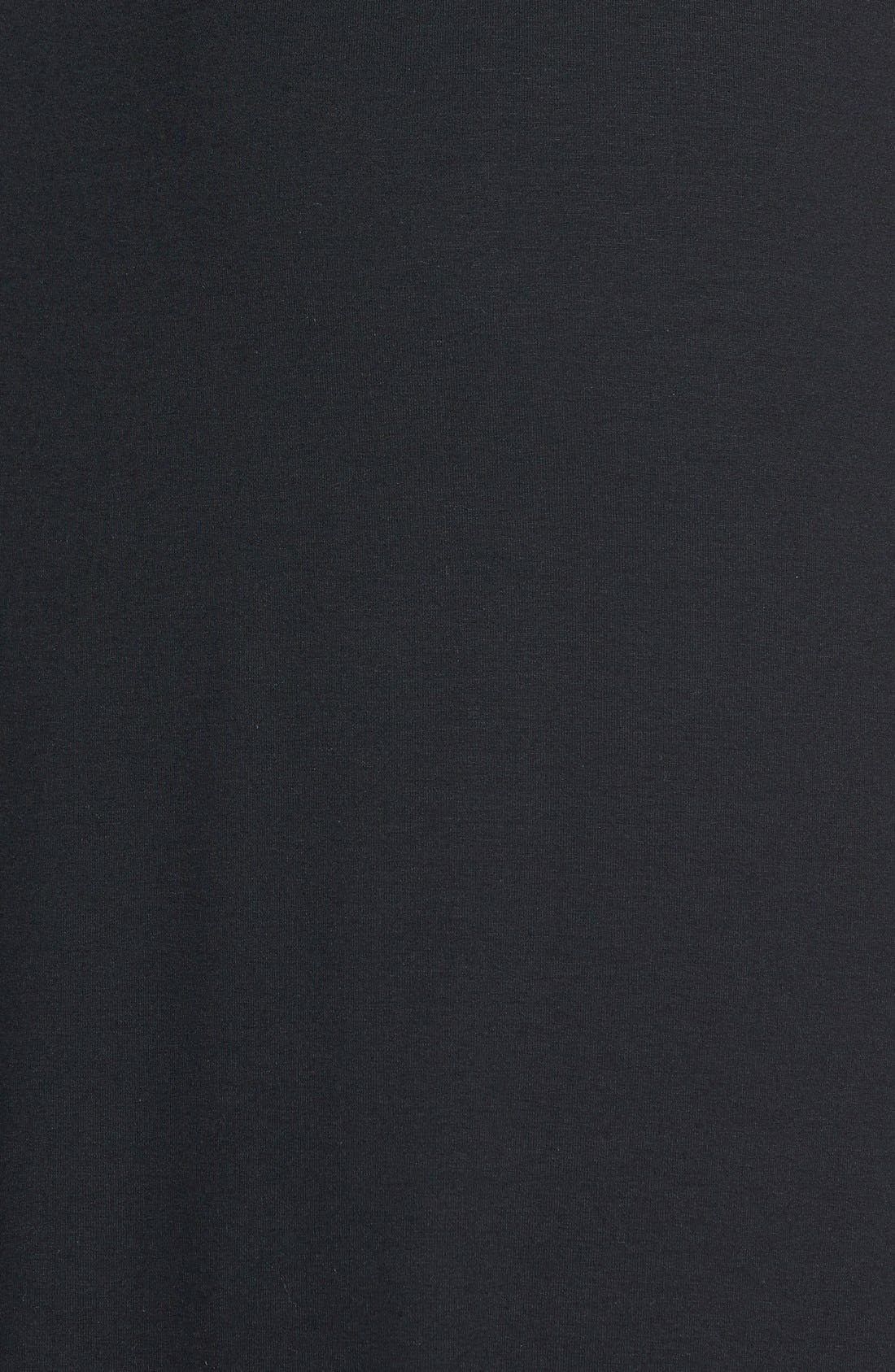 ,                             Faux Wrap Jersey Skirt,                             Alternate thumbnail 2, color,                             001