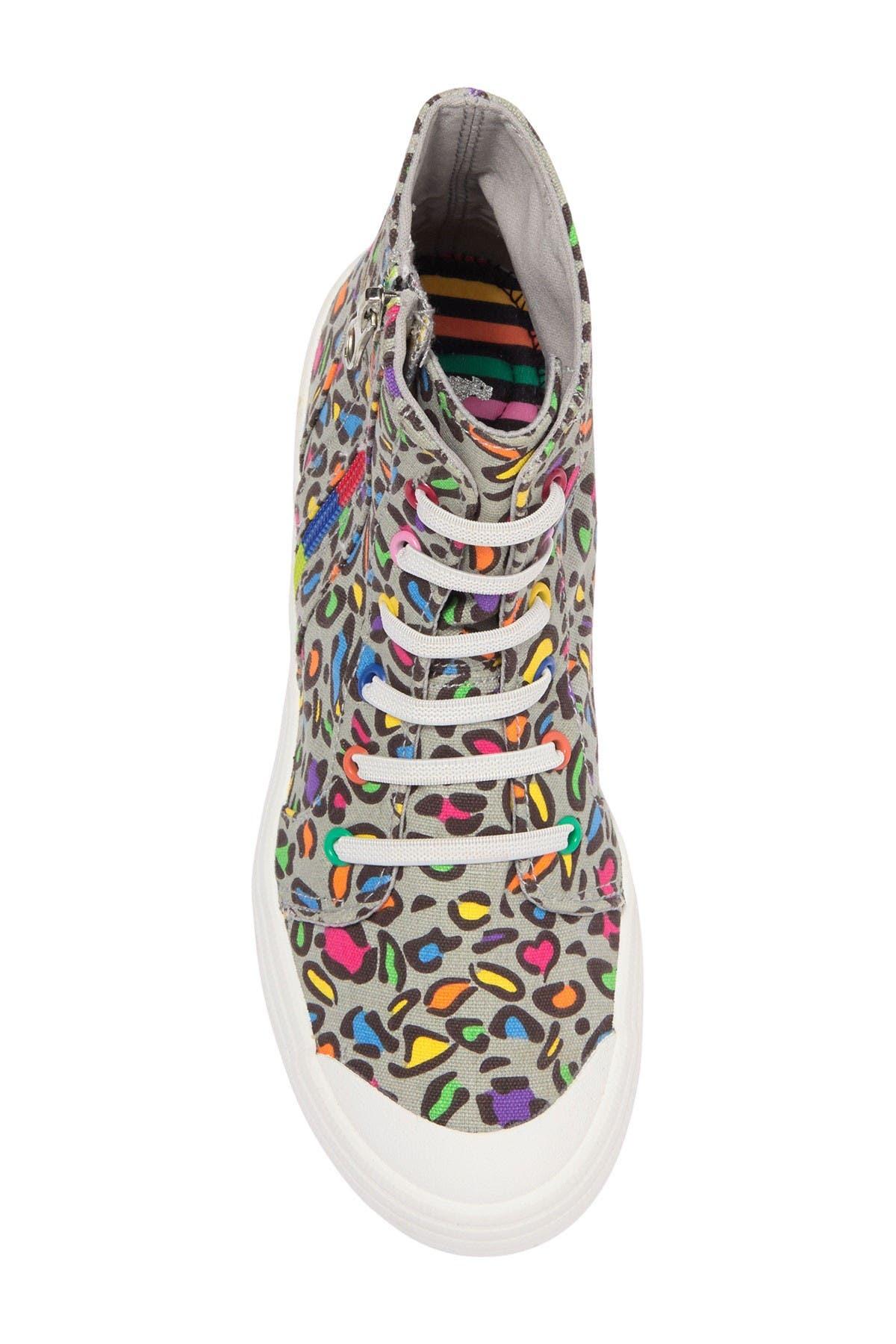 Rocket Dog Cayla Lisa Leopard High Top Sneaker