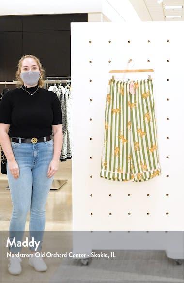 Wide Leg Crop Pajama Pants, sales video thumbnail