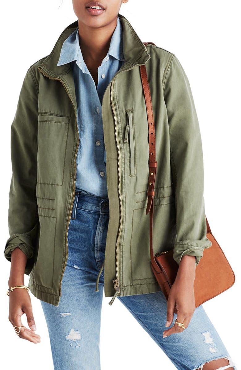 MADEWELL Fleet Jacket, Main, color, 306