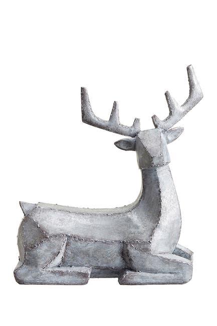 "Image of ALLSTATE 10"" Sitting Reindeer"