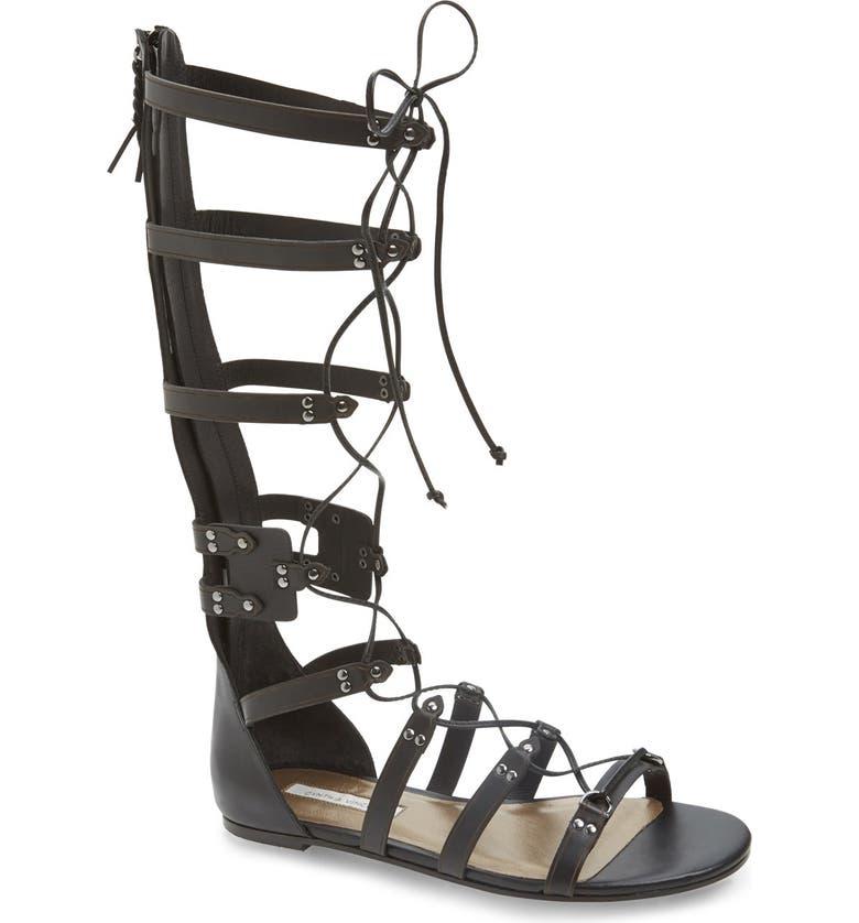 CYNTHIA VINCENT 'Franky' Gladiator Sandal, Main, color, 002