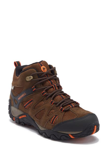 Image of Merrell Deverta Mid Ventilation Waterproof Suede Hiking Boot