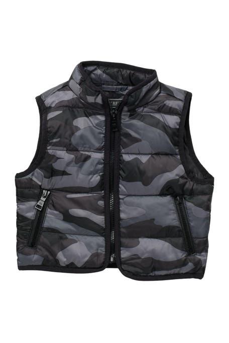 Urban Republic - Camo Print Reversible Puffer Vest